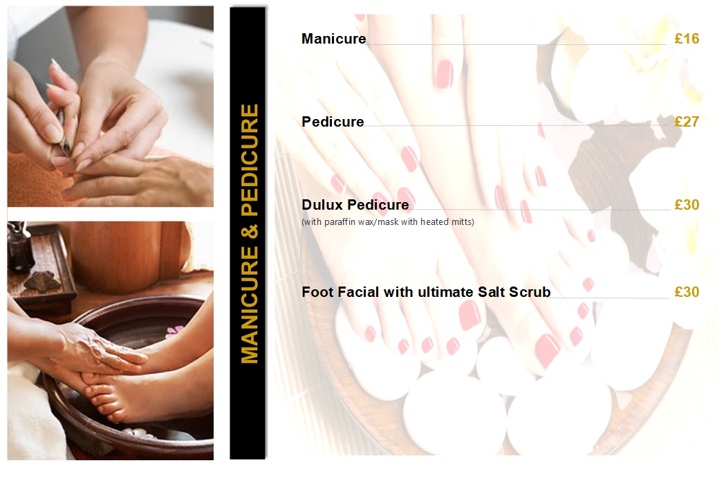 Manicure & Pedicure - Price